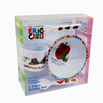 Very Hungry Caterpillar 5 Piece Dinner Set