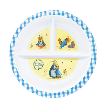 Peter Rabbit 19cm Section Plate