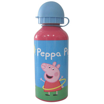 Peppa Pig 400ml Aluminium Bottle
