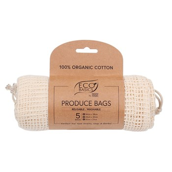 White Magic Eco Basics Produce Bags Set of 5