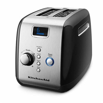 KitchenAid Artisan Toaster 2 Slice Onyx Black
