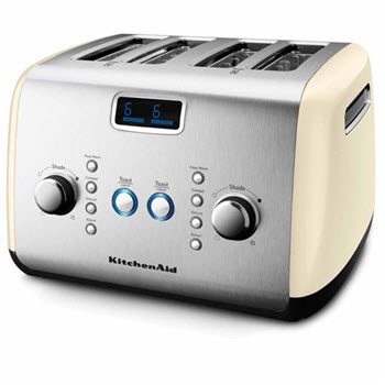 KitchenAid Artisan Toaster 4 Slice Almond Cream