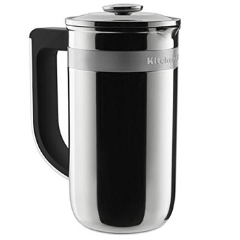 KitchenAid Stainless Steel Precision Press Coffee Maker