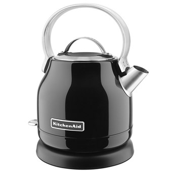 KitchenAid Classic Stainless Steel Kettle 1.25L Onyx Black