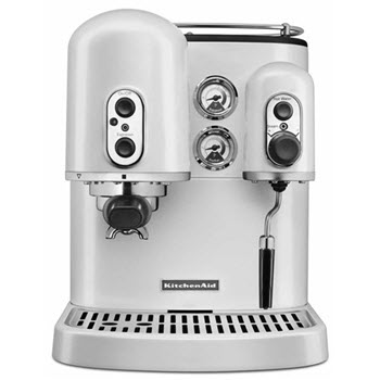 KitchenAid Artisan Espresso Machine Frosted Pearl