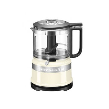 KitchenAid Mini Chopper 3.5 Cup Almond Cream
