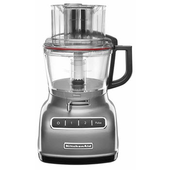 KitchenAid Artisan ExactSlice Food Processor Contour Silver