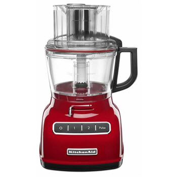 KitchenAid Artisan ExactSlice Food Processor Empire Red