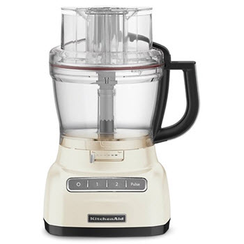 KitchenAid KFP1333 ExactSlice Food Processor Almond Cream