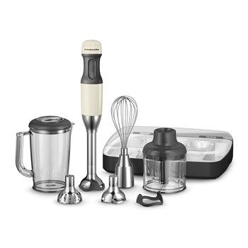 KitchenAid Deluxe Hand Blender Almond Cream