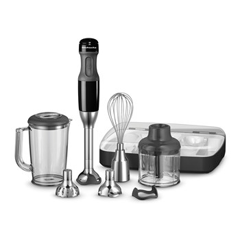 KitchenAid Deluxe Hand Blender Onyx Black