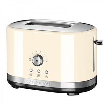 KitchenAid Almond Cream 2 Slice Toaster