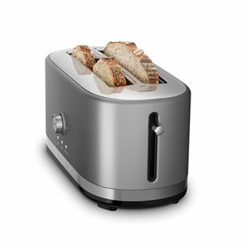KitchenAid 4 Slice Toaster Silver