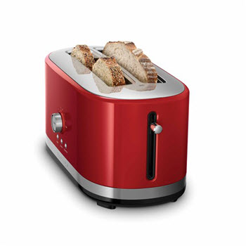 KitchenAid 4 Slice Toaster Red