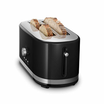 KitchenAid 4 Slice Toaster Black