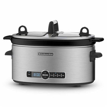 KitchenAid Artisan Stainless Steel Slow Cooker