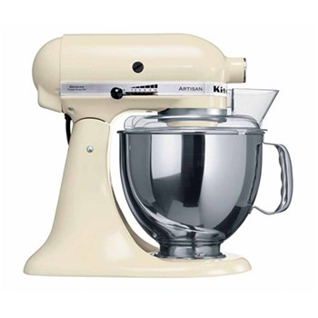 KitchenAid Artisan KSM150 Stand Mixer 4.8L Almond Cream