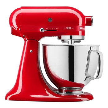 KitchenAid 100 Year Queen Of Hearts Stand Mixer Passion Red