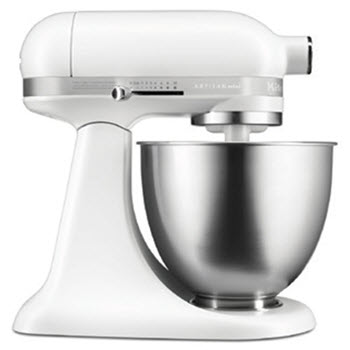 KitchenAid Artisan Mini Stand Mixer Matte White