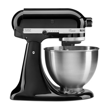 KitchenAid KSM45 Classic Die Cast Metal Stand Mixer Onyx Black