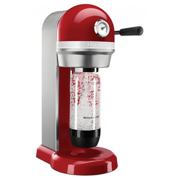 KitchenAid KSS1121 Empire Red Sparkling Beverage Maker