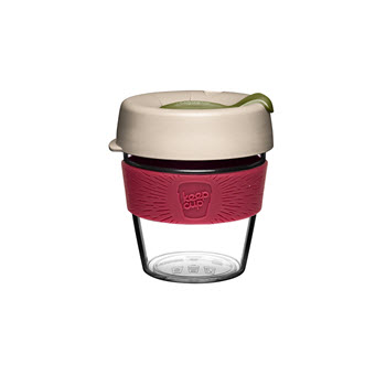 KeepCup Original Clear Edition 8oz/240ml Loam