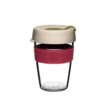 KeepCup Original Clear Edition 12oz/340ml Loam