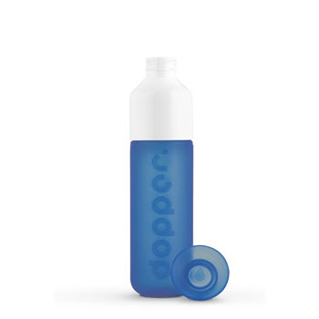 Dopper Original Plastic Water Bottle -Pacific Blue 450ml