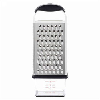 OXO Good Grips Box Grater with Cheese Catcher