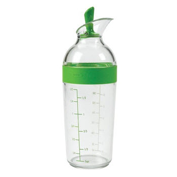 OXO Good Grips Salad Dressing Shaker Green 1.5 Cup