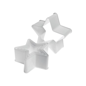 Mondo 5 Piece Star Cookie Cutter Set