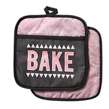 Ladelle Bake the World Set of 2 Pot Holder