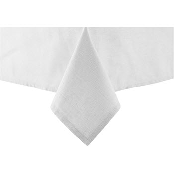 Ladelle Base 2.25m Tablecloth White