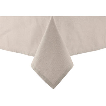Ladelle Base 2.65m Tablecloth Taupe