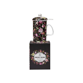 Ashdene Ebony Rose 3 Piece Infuser