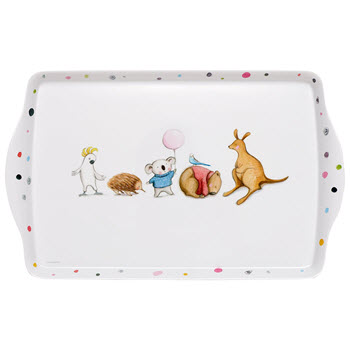 Ashdene Barney Gumnut & Friends Medium Tray
