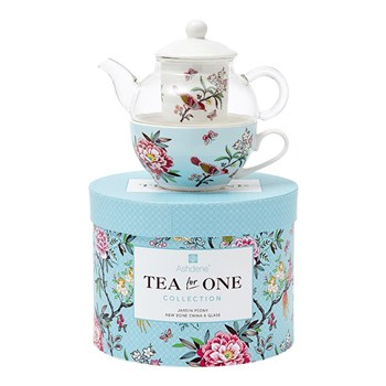Ashdene Jardin Peony New Bone China Tea for One 280ml/220ml