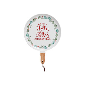 Ladelle Christmas Tradition 35cm Platter Serve Stick