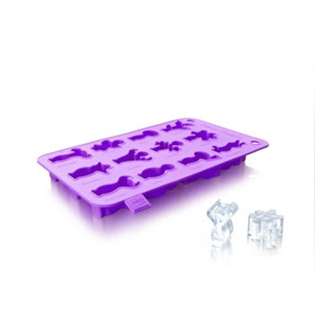 Vacu Vin Purple Ice Cube and Baking Tray