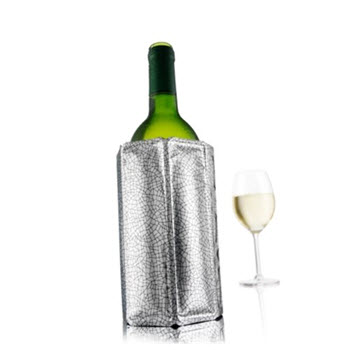 Vacu Vin Active Wine Cooler Sleeve Silver
