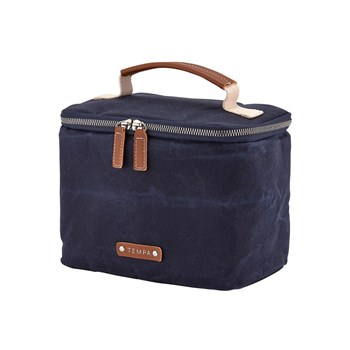 Ladelle Tempa Classic Insulated Lunch Box Bag Navy Blue