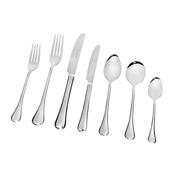 Stanley Rogers Modena Stainless Steel 70 Piece Cutlery Set Silver
