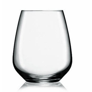 Luigi Bormioli Alfieri 670ml Stemless Cabernet Glass Set of 6