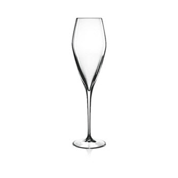 Luigi Bormioli Prestige 200ml Flute Glass Set of 4