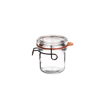 Luigi Bormioli Lock Eat Glass Food Storage Jar 200ml
