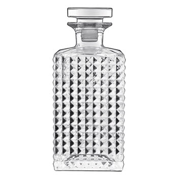 Luigi Bormioli Mixology Elixir Crystal Glass Decanter 750ml