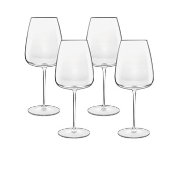 Luigi Bormioli Talismano Bordeaux Glass 700ml Set of 4
