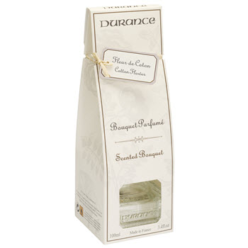 Durance Reed Diffuser Scented Bouquet - Cotton Flower