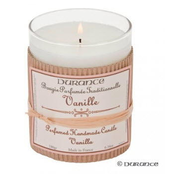 Durance Scented Candle - Vanilla