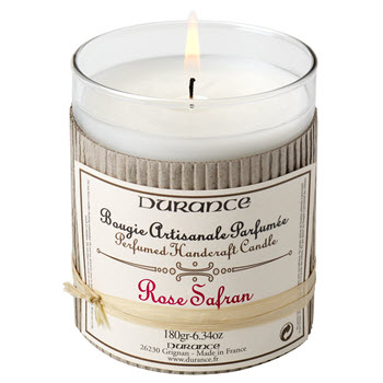 Durance Scented Candle - Rose